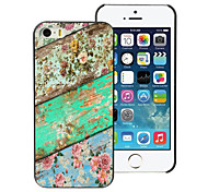 The Flower Design Aluminum Hard Case for iPhone 4/4S