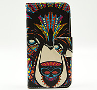 Bear Pattern The Inside Painted Cards Case for Samsung Galaxy Grand Prime G530