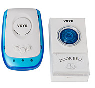 High Quality Latest Home Security Cordless /Wireless Remote Door Bell 38 Songs US Plug