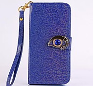 Blue Eagle Eye Button Holster Cases for Samsung Galaxy S6