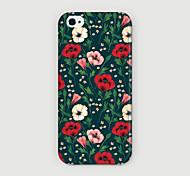 Blumenmuster pc phone case Schutzhülle für iPhone 6 zuzüglich Fall
