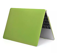 Fashion Metal Style PVC Full Body Hard Case Cover for Apple New Macbook 12 inch (Assorted Colors)