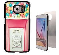 roze ontwerp aluminium koffer voor Samsung Galaxy s6
