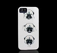 motif de chien couverture rigide pour iPhone 5 cas pour iphone 5 s