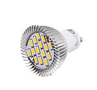 7W GU10 Faretti LED MR16 15 SMD 5630 700 lm Bianco caldo / Luce fredda Decorativo AC 85-265 / AC 220-240 / AC 100-240 V 1 pezzo
