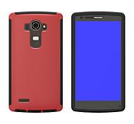 multicolore tpu + touch pc + cassa del telefono per lg g4 (colori assortiti)