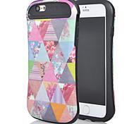 a nova combinação para iphone6plus óleo leve design da vara padrão pequeno triângulo cintura de shell telefone móvel