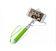 270-Grad-Drehung selfie Stick für 3.5-Anschluss Telefon (Farbe sortiert)