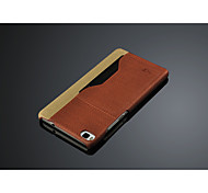 High quality leather phone case for huawei p8