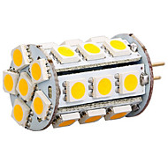 6W G4 Luces LED de Doble Pin 27 SMD 5050 300-400 lm Blanco Cálido / Blanco Fresco AC 12 V 1 pieza