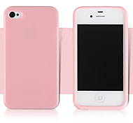 Candy Color High Quality TPU Material Phone Case for iPhone 5/5S(Assorted Colors)