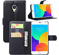 Litchi Around Open Bracket Leather Phone Wallet Card Suitable for Meizu MX4 Pro(Assorted Color)