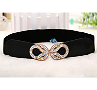 Women Fashionable Dress Belt Party/Casual Alloy Others Wide Belt
