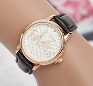 Women's Watches Korean Small Diamond Diamond Ladies Watch Eiffel Tower Personality White Bracelet Watch