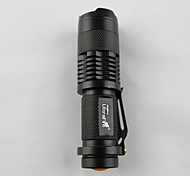 400LM CREE  LED Rechargeable Flashlight Torch Battery Charger