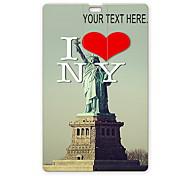 Personalized USB Flash Drive I Love New York Design 8GB Card USB Flash Drive