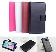 Protective PU Leather Magnetic Vertical Flip Case for Samsung Galaxy S6 edge(Assorted Colors)