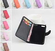 de cuero protectora de la PU del tirón verticales magnética para z10 blackberry (colores surtidos)