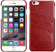 Genuine Leather And Full Body Case And Card Slot For Apple iPhone6 4.7 Inch