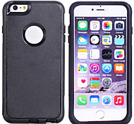 Soft Luxury PC+TPU Dual Layer Cool Case Crocodile Leather Skin Shockproof Slim Case for iPhone 6 Plus (Assorted Color)