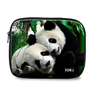 "For U Designs 10"" Parent-Child/Panda Laptop Sleeve Case for Ipad"