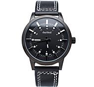 2015 brandneue Mode für Männer Lederband Uhren Quarzuhr stereoskopischen Zifferblatt-Design Designer-Uhren.
