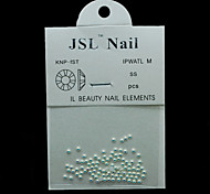 Pearl2mm 100pcs/lot 2mm Beauty AB Color Half Round Pearls Imported Pearls Nail Art Rhinestone & Decoration