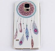 For Samsung Galaxy Case Pattern Case Back Cover Case Dream Catcher TPU Samsung S5