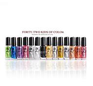 esmalte de uñas luminosa (14 colores opcionales)
