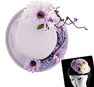 Women Hat Fascinators with Flower for Wedding/Party Headpiece