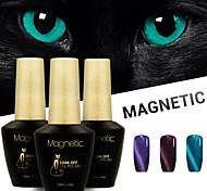 Azure 3 Pcs/Lot 3D UV Cat Eyes Magnetic Nail Gel Polish Soak Off Nails Art Gel  (#96+#97+#98)