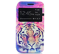Tiger Pattern Quality Bracket Case for Samsung Galaxy J1