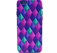 Diamond Pattern PC Material Phone Case for iPhone 6