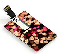 64GB Heart Design Card USB Flash Drive