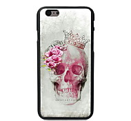 Skull and Rose Design Hard Case for iPhone 5C