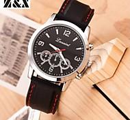 Men's Fashion Sport Silicone Quartz  Belt Wrist Watch(Assorted Colors)