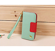 Fly Bird PU Leather Case For Apple IPhone 4S 5S 5C Luxury Card Holder Phone Bag With Mirror Strap Cover For iphone
