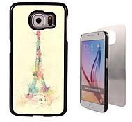 de Eiffeltoren ontwerp aluminium koffer voor Samsung Galaxy s6