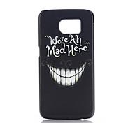 denture cas pc de téléphone pour Samsung Galaxy S6