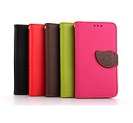 LG G2 PU Leather / TPU Full Body Cases / Cases with Stand Special Design / Mixed Color case cover