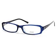 [Lenti liberi] acetato rettangolo pieno-orlo occhiali da vista di moda