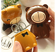 Lovely Bear Shape Muliti-functional Nail Clipper Beauty Set