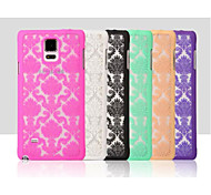 High-Grade Fashion Laser Three-Dimensional Carving PC Materiai for Samsung Galaxy NOTE 4 (Assorted Colors)