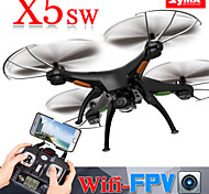 Syma X5SW RC Quadcopter Build in HD Camera with WIFI FPV Real-Time Transmission for Video and Photo,4CH 6Axis Helicopter