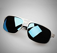Gafas de Sol hombres's Ligeras / Polarizada Aviador Negro / Plata / Dorado / Gris Gafas de Sol / Conducción Completo llanta