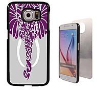 olifant ontwerp aluminium koffer voor Samsung Galaxy s6