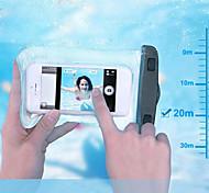 immersioni e surf e nuotare sacchetto impermeabile per iPhone 5 5s 5c cassa del telefono 20m subacquea con l'imbracatura