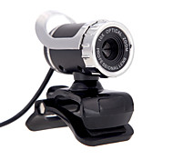 Usb 2.0 12 m hd câmera web cam 360 graus com microfone clip-on para desktop skype computador pc laptop