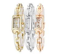 Ladies'  Wrist Watch High-Grade Good Quality Geneva Steel Belt Quartz Analog Fashion Watch Wrist Watch
