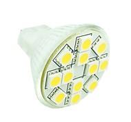 3W GU4(MR11) Faretti LED MR11 12 SMD 5050 160-180 lm Bianco caldo / Luce fredda / Bianco Intensità regolabile / DecorativoDC 12 / AC 12 /